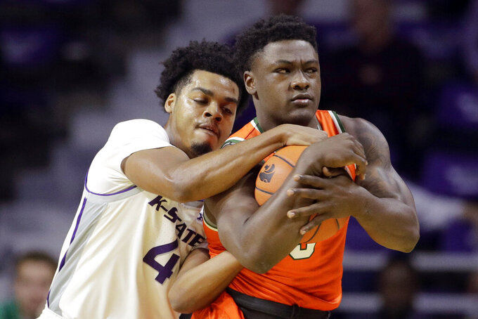 Sneed, McGuirl lead Kansas State past Florida A&M 76-58