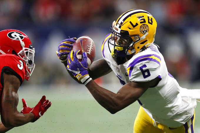 Heisman coronation? Burrow leads LSU past Georgia 37-1