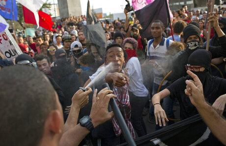 Rio Olympics Protest