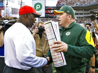 Mike McCarthy, Lovie Smith