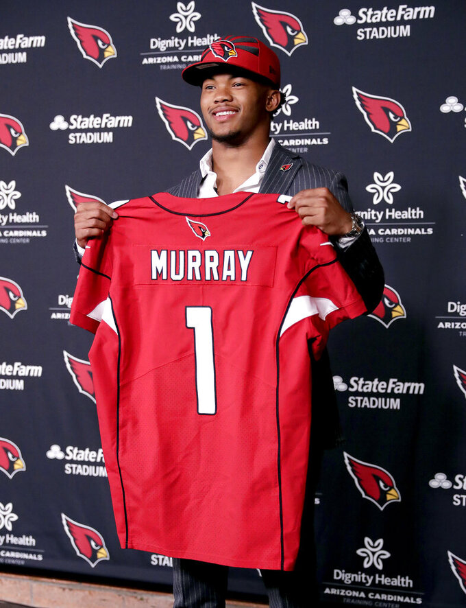 Cardinals take Murray No. 1 overall and trade Rosen