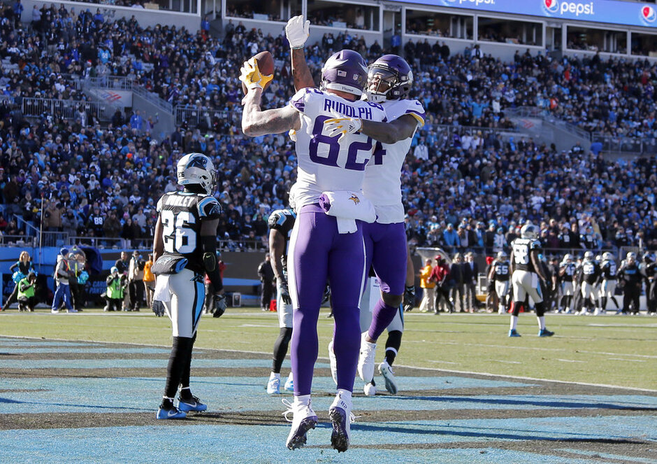 Kyle Rudolph, Stefon Diggs