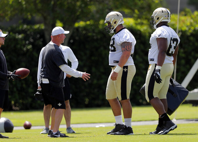 Saints preseason opener brings big snaps for center hopefuls