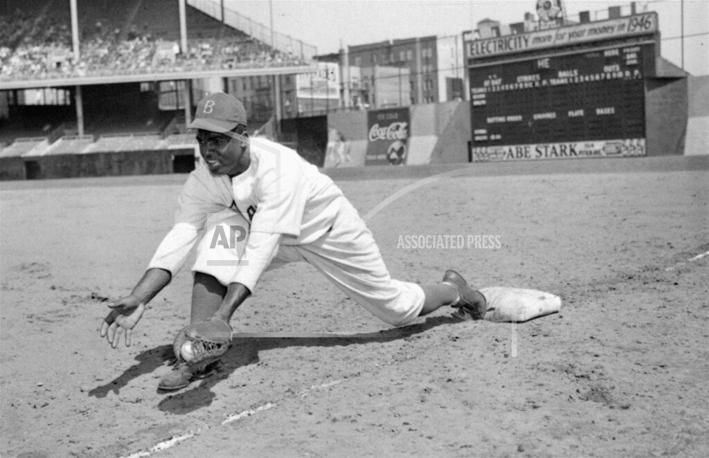 Associated Press Sports New York United States Professional baseball (National League) JACKIE ROBINSON