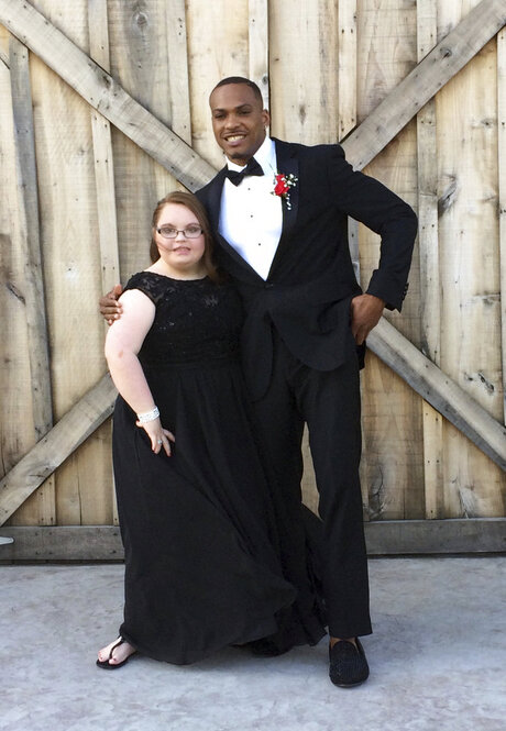 NFL Player Special Needs Prom