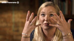 In this image taken from video issued by the BBC, Virginia Roberts Giuffre gestures during an interview on the BBC Panorama program that will be aired on Monday Dec. 2, 2019. Roberts Giuffre says she was a trafficking victim made to have sex with Prince Andrew when she was 17 is asking the British public to support her quest for justice. She tells BBC Panorama in an interview to be broadcast Monday evening that people