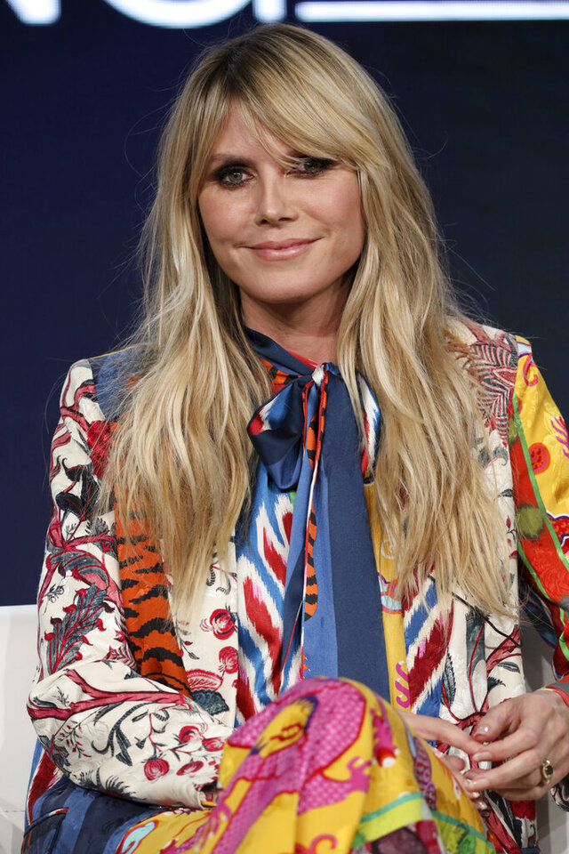 Heidi Klum appears at the