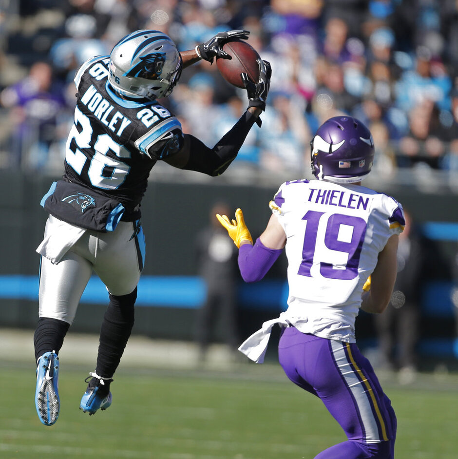 Daryl Worley, Adam Thielen