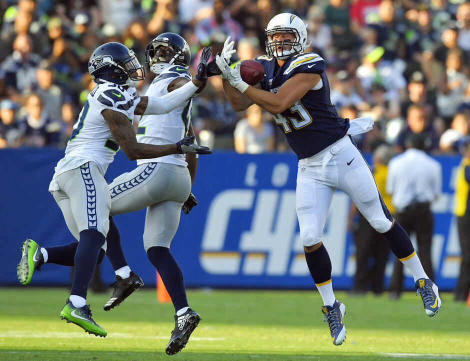 Seahawks Chargers Football
