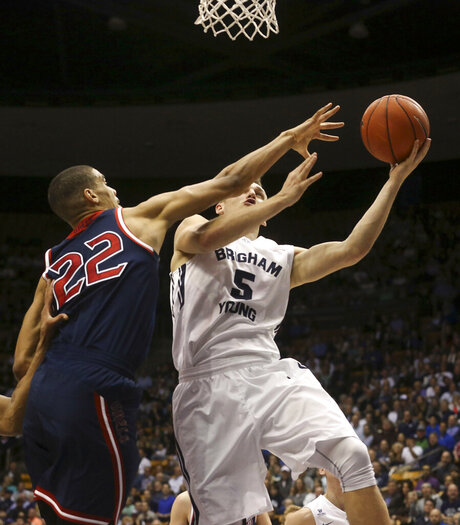 BYU vs St. Mary's mens basketball game 17