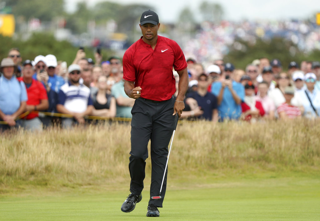 Woods Off To Promising Start As Kisner Falls Away In Open Finale