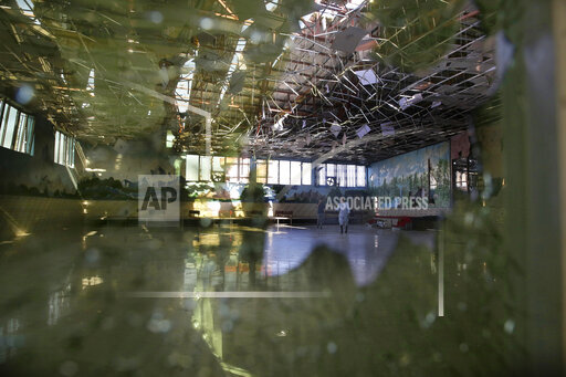 APTOPIX Afghanistan Wedding Hall Blast