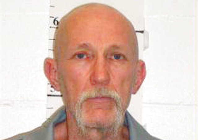 """FILE - This Feb. 18, 2014, file photo provided by Missouri Department of Corrections, shows death row inmate Walter Barton, convicted of killing an 81-year-old mobile home park manager in 1991. The pause in U.S. executions during the coronavirus pandemic likely will end Tuesday, May 19, 2020, with the scheduled lethal injection of Barton. Republican Missouri Gov. Mike Parson said Monday, May 18, 2020, that he had not heard anything to make him reconsider the execution, which he said would """"move forward as scheduled."""" (Missouri Department of Corrections via AP, File)"""