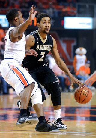 Vanderbilt Auburn Basketbll