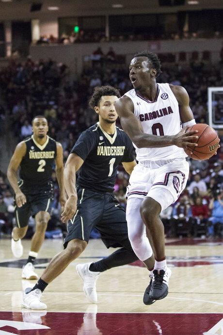 Vanderbilt South Carolina Basketball