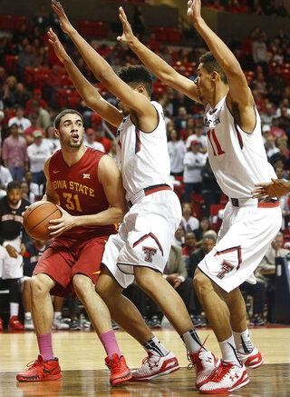 Iowa State Texas Tech Basketball