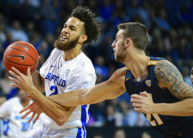 Harris' 34 leads No. 19 Buffalo to 110-80 win over Toledo