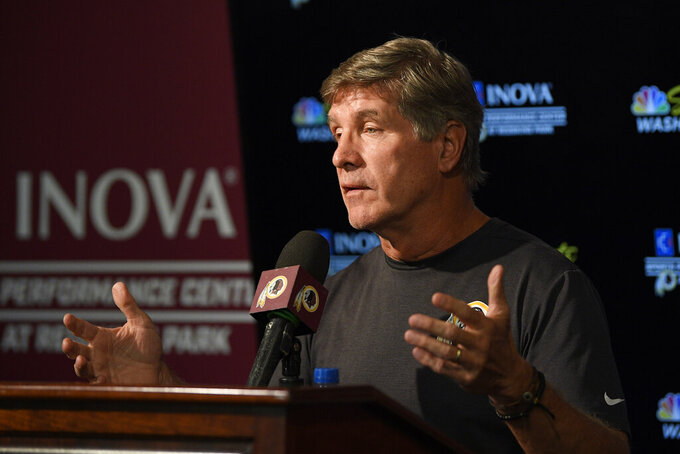 Redskins get taste of life under interim coach Bill Callahan