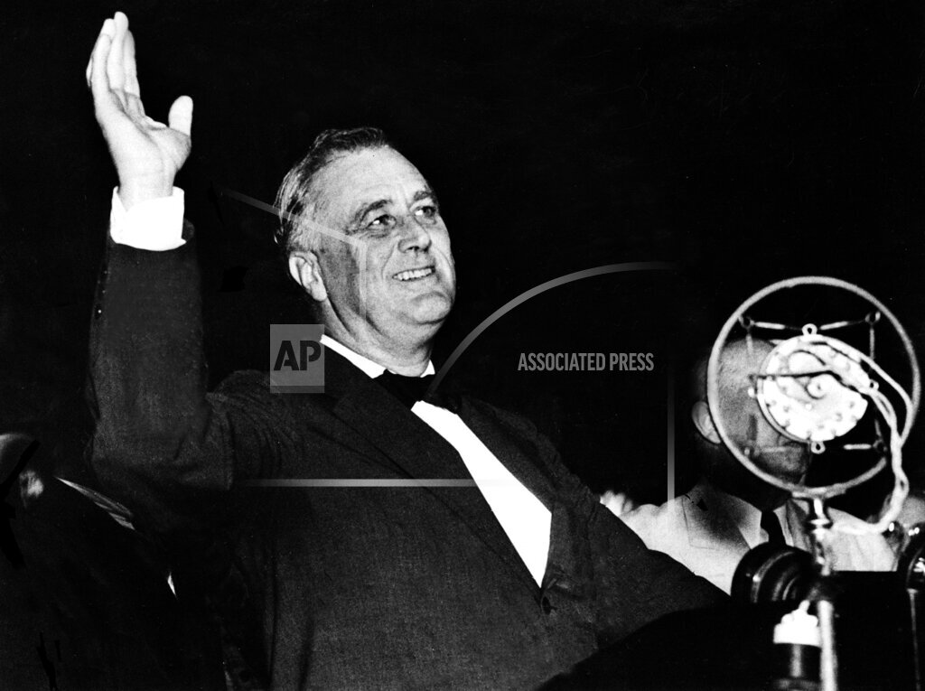 Associated Press Domestic News New York United States ROOSEVELT ON FOREIGN AFFAIRS