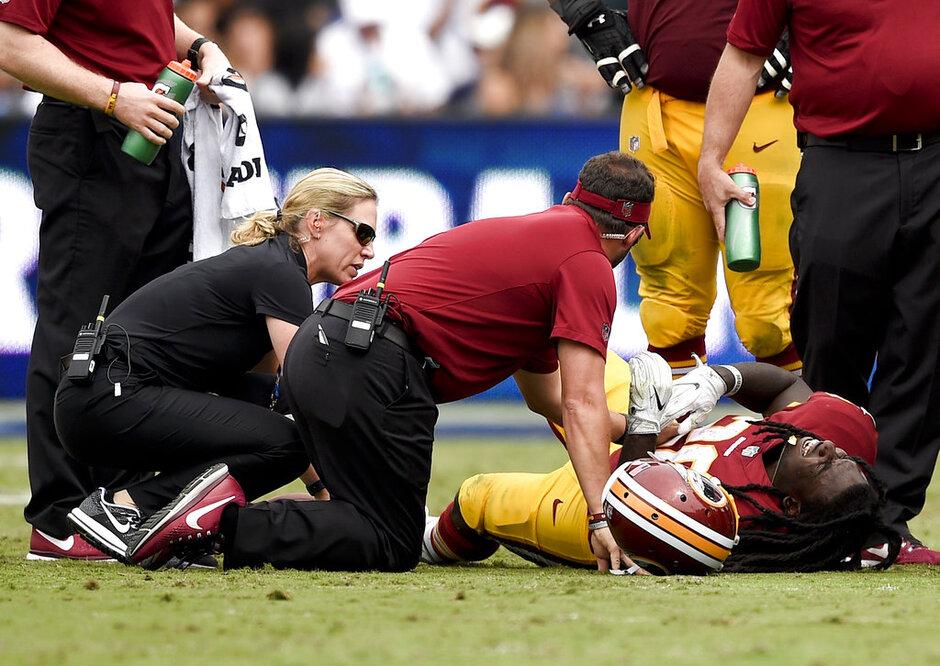 Redskins Injuries Football