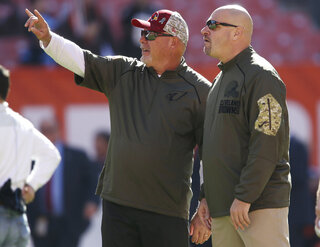 Bruce Arians, Mike Pettine