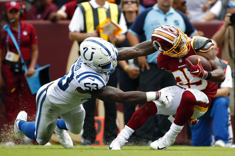 Chris Thompson, Darius Leonard, Week 13