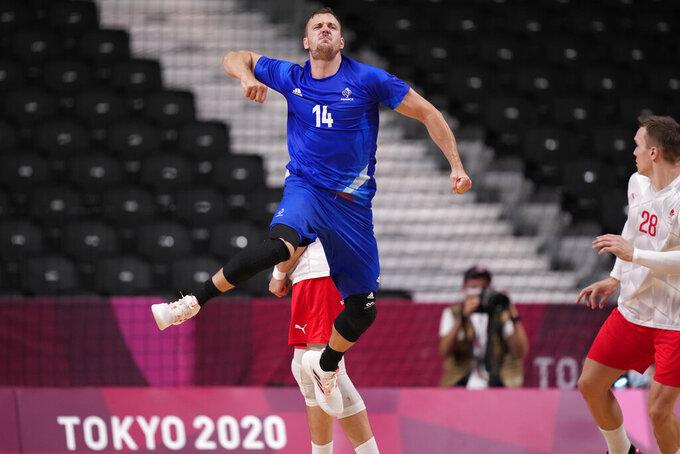 France beats Denmark for men's handball gold at Olympics