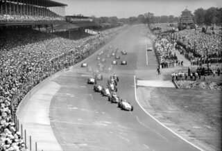 Indy 500 1954 Countdown Race 38 Auto Racing