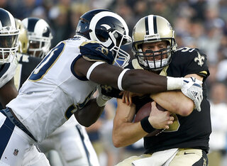 Saints Rams Football