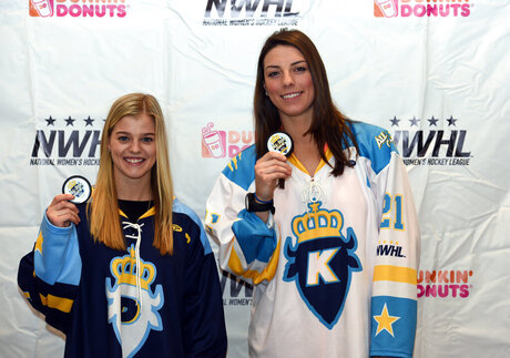 Emily Pfalzer,  Hilary Knight