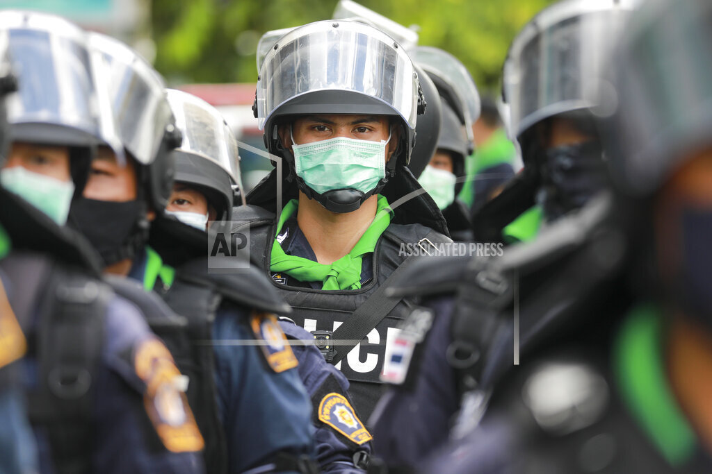 APTOPIX Thailand Politics