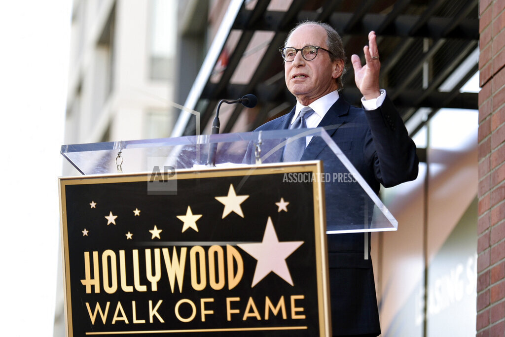 Harry Friedman Honored with a Star on the Hollywood Walk of Fame