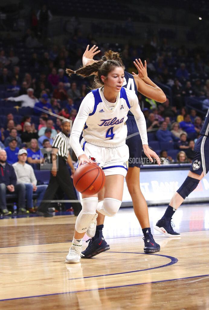 COLLEGE BASKETBALL: FEB 24 Women's UConn at Tulsa