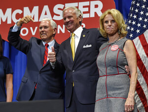 South Carolina Governor Pence