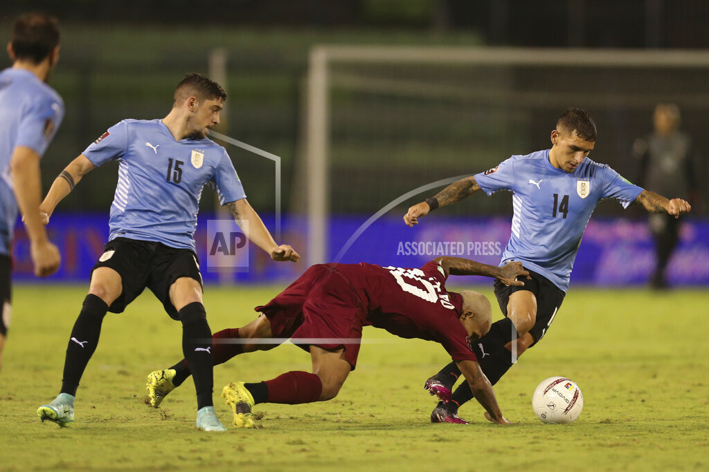 Venezuela Uruguay WCup Soccer