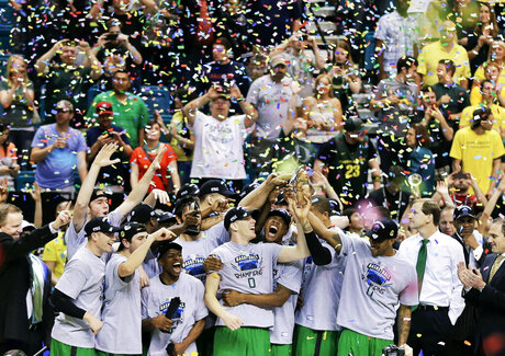 APTOPIX P12 Oregon UCLA Basketball