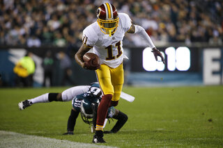 Redskins Football Jackson