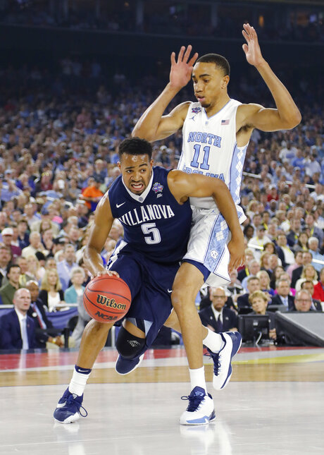 Villanova booth Returns Basketball