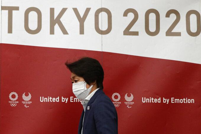 Hashimoto: 'No spectators' still possible for Tokyo Olympics