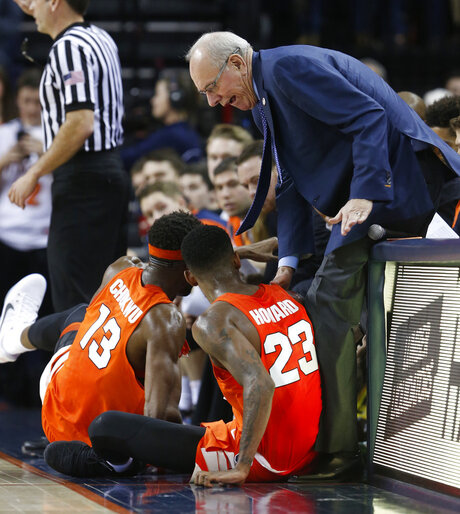 Paschal Chukwu, Frank Howard, Jim Boeheim