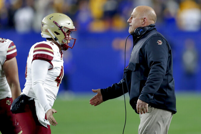 Dillion, Boston College chug past Pitt 26-19