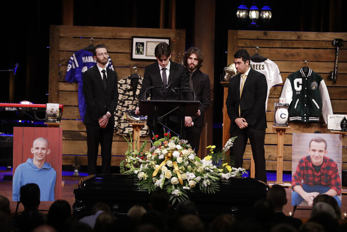 Purdue fan who inspired amid cancer fight laid to rest