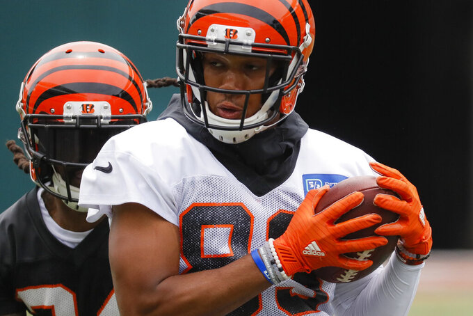 Bengals sign WR Tyler Boyd to 4-year contract extension