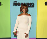 FILE - In this Oct. 28, 2019, file photo, television journalist Gayle King attends the world premiere of Apple TV+'s