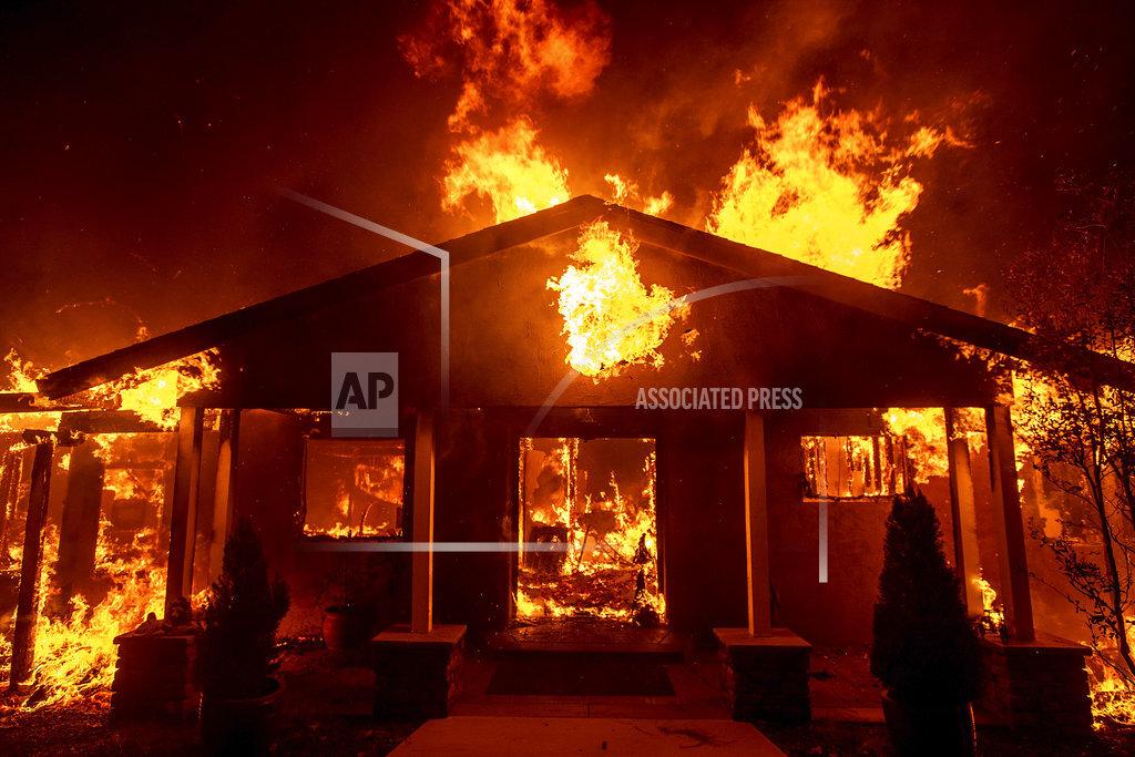 California Wildfires Paradise Lost