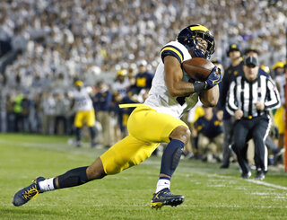 APTOPIX Michigan Penn St Football
