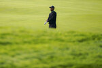 Tiger Woods walks the 11th fairway during practice before the U.S. Open Championship golf tournament at Winged Foot Golf Club, Tuesday, Sept. 15, 2020, in Mamaroneck, N.Y. (AP Photo/John Minchillo)