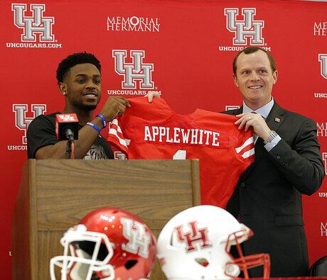 Houston Applewhite Football