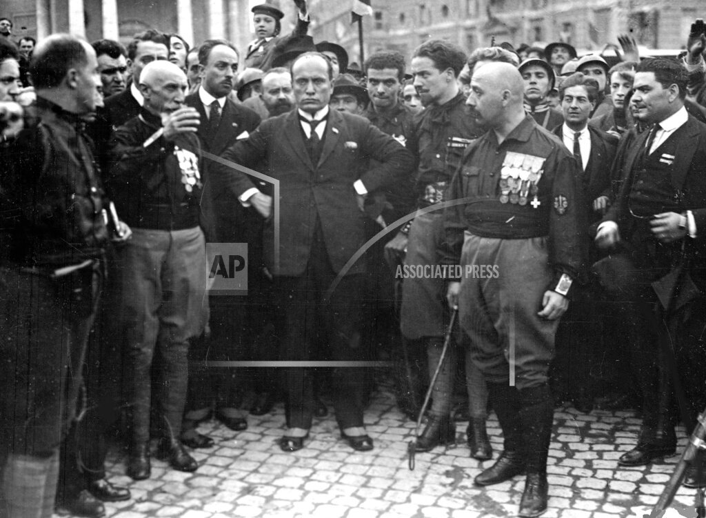 AP I ITALY MUSSOLINI AND FASCISTS 1922