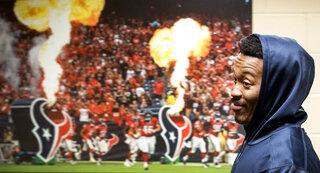 Texans Thomas Football